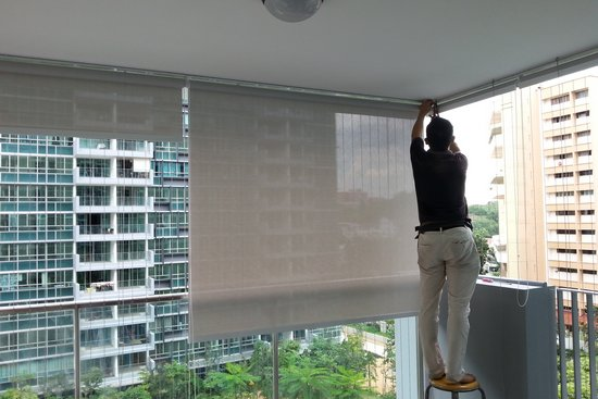 Roller Blinds Skygrilles Invisible Grille Window